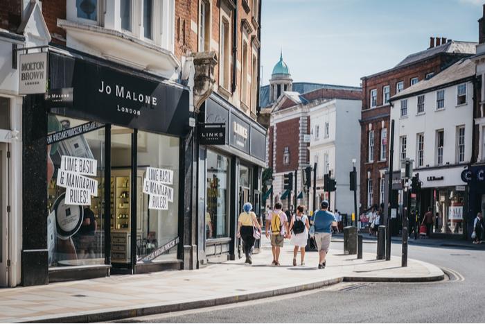 ONS Jonathan Athow retail sales Covid-19 pandemic