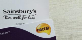 Sainsbury's Nectar customer loyalty card Argos Jane Moir