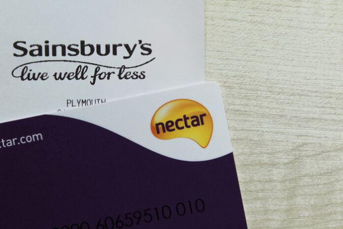 Sainsbury's Nectar customer loyalty card Argos Jane Moir