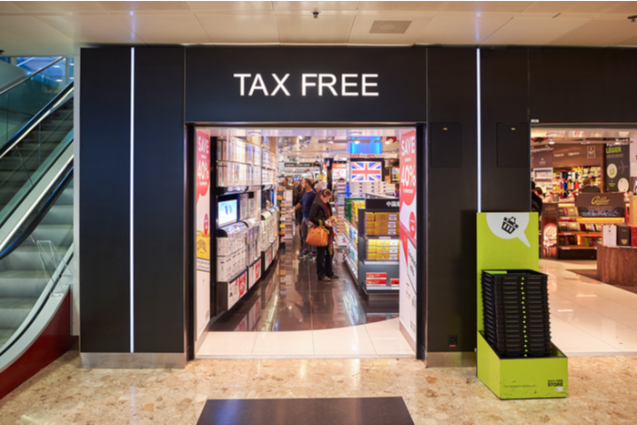 Tax free shopping tourism covid-19