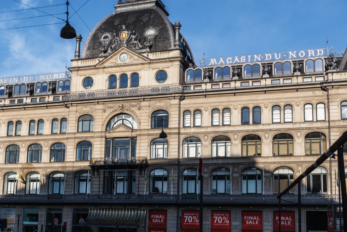 Debenhams puts its Magasin du Nord business up for sale