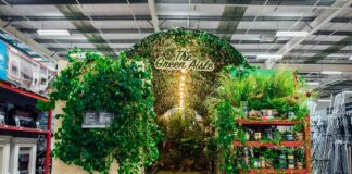 """Homebase launches UK's first """"Green Aisle"""""""