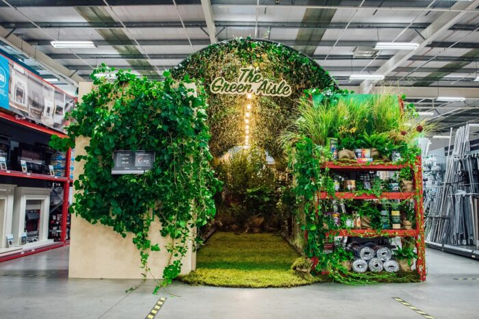 "Homebase launches UK's first ""Green Aisle"""