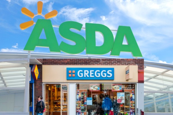 Asda Greggs concession