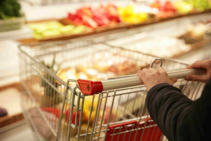 Grocery sales surge but minimal signs of panic-buying