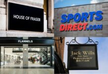 Frasers Group Mike Ashley Sports Direct House of Fraser furlough covid-19 pandemic lockdown Chris Wootton