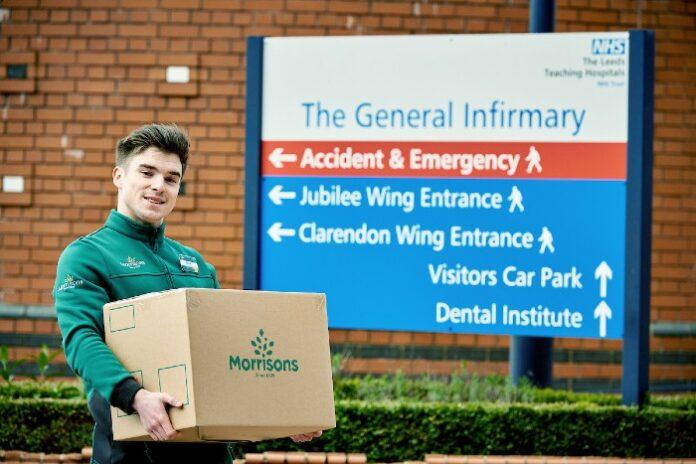 Morrisons NHS discount David Potts covid-19 pandemic lockdown