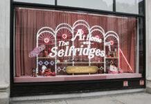 Selfridges reveals Christmas window display despite lockdown
