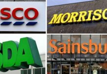 Big 4 grocers to net almost £2bn in business rates relief