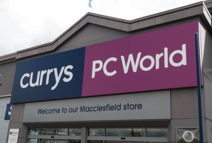 Currys PC World ShopLive Order & Collect Mark Allsop Christmas