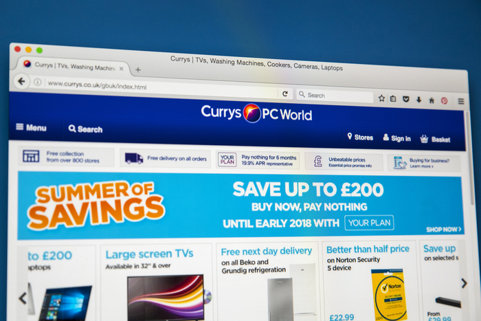 Currys Pc World Apologises After Black Friday Surge Crashes Site Wipes Gift Cards
