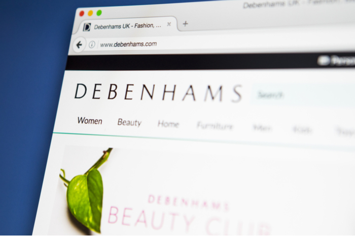 Debenhams offers click-and-collect service from local convenience stores
