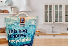 Aldi launches 100% recyclable freezer bags