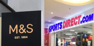 Frasers Group confirms closure of English stores & M&S shuts clothing & home areas
