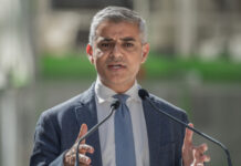 London Mayor Sadiq Khan Robert Jenrick business rates