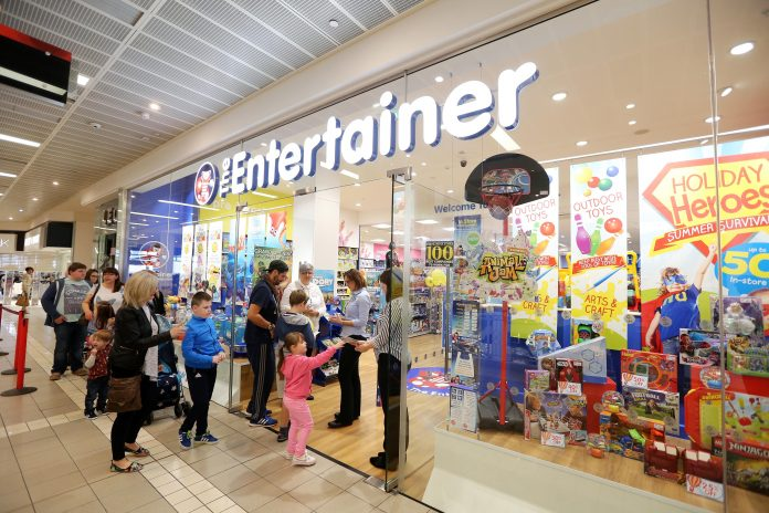 The Entertainer gives staff 3 days off over Christmas & Boxing Day weekend