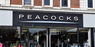 Peacocks Jaeger administration jobs redundancies Philip Day Edinburgh Woollen Mill Group