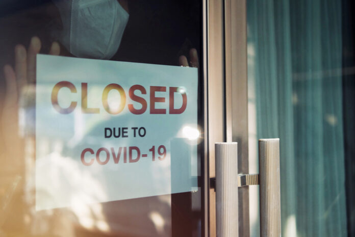 Covid-19 pandemic lockdown black friday christmas
