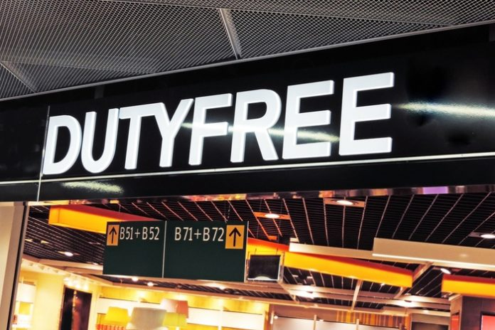 Travel tourism airport duty free tax free vat free covid-19 pandemic lockdown