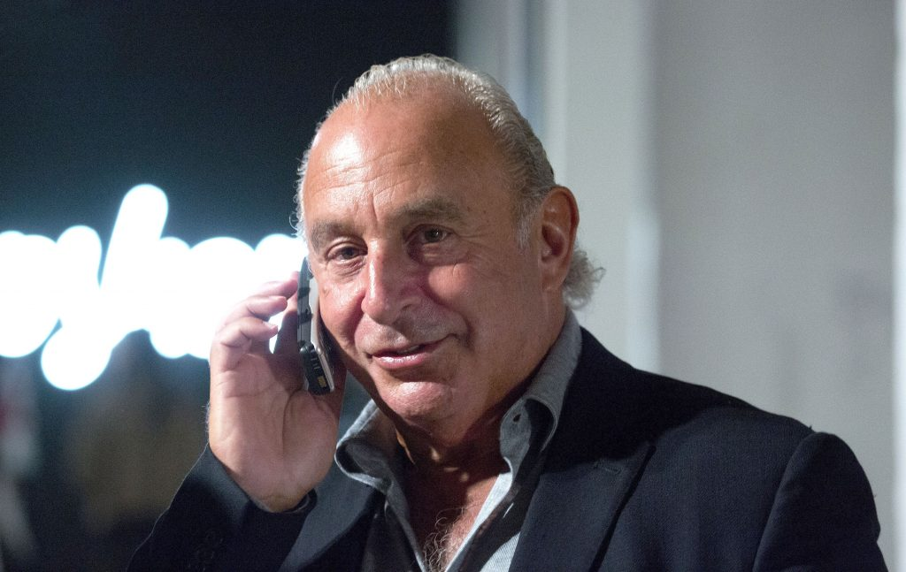 13,000 jobs at risk as Sir Philip Green's Arcadia Group plunges into administration