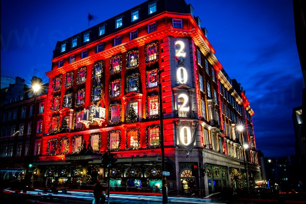 The pandemic may have put a damper on Christmas this year but here's a rundown of all the retailers and shopping centres who have put on show stopping festive displays regardless.