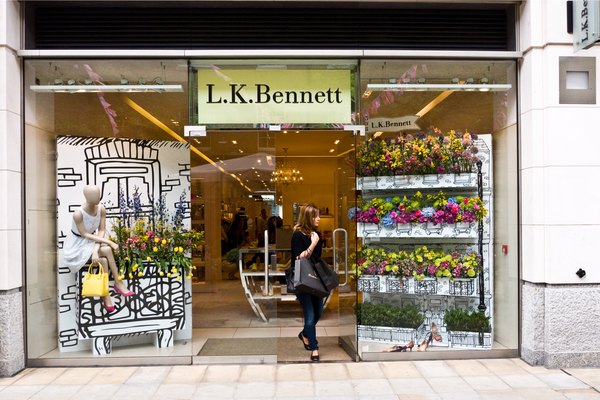 LK Bennett CVA store closures turnover based rent