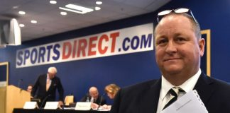 Mike Ashley Frasers Group Sports Direct rent