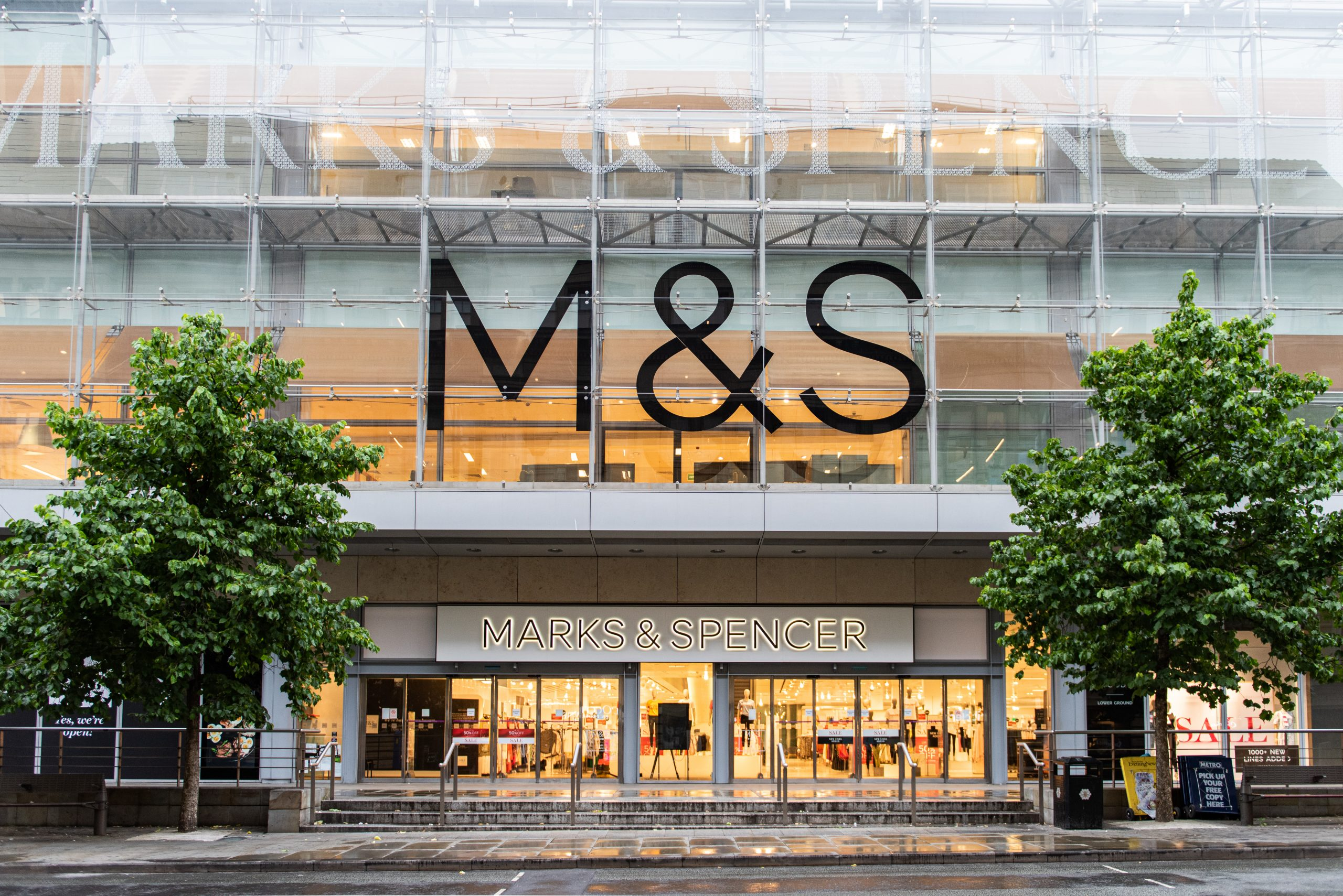 M&S CEO reiterates refusal to pay back business rates relief