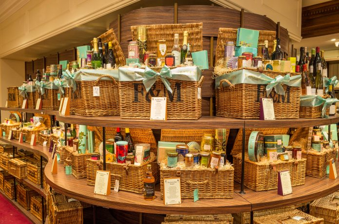 """Fortnum & Mason hampers running out as demand rises """"exponentially"""""""