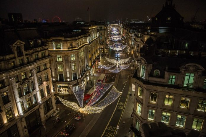 Christmas Mayor of London Sadiq Khan West End