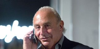 Sir Philip Green Arcadia Group topshop topman administration