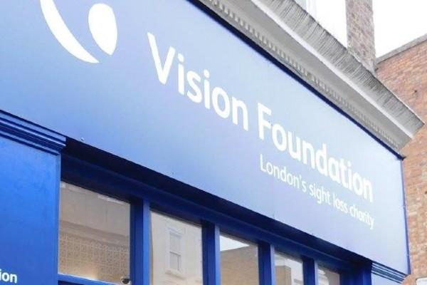 Vision Foundation Phil Beaven ebay charity shop retail community pandemic covid