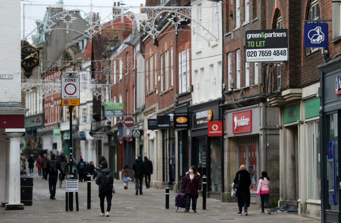 Footfall nosedives 55% after lockdown restrictions extended to much of the UK