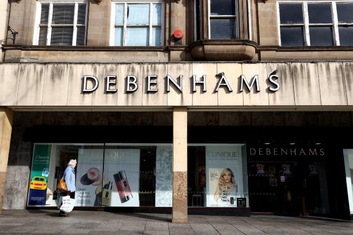 Boohoo Debenhams liquidation administration acquisition