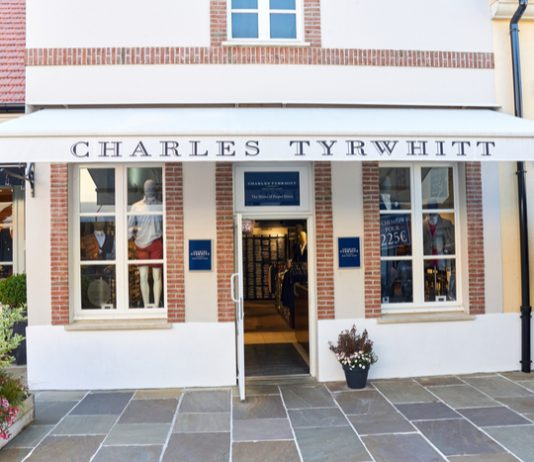 """Charles Tyrwhitt founder says sales """"literally fell off a click"""" last year"""