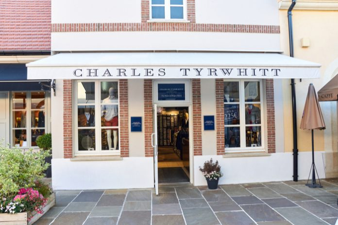 Charles Tyrwhitt founder says sales