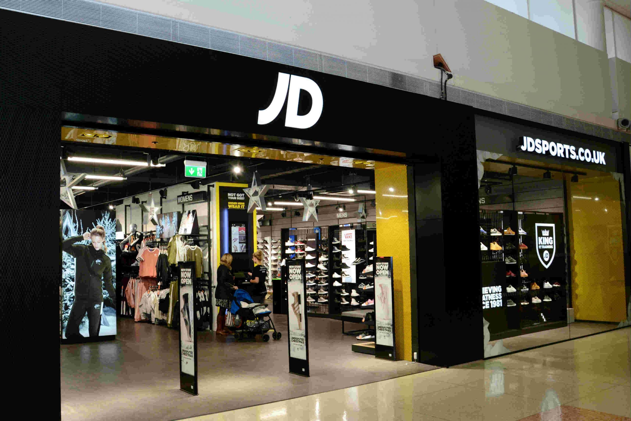 "JD Sports raises profit forecast but warns stores ""likely"" to stay closed until Easter"