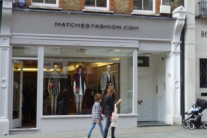Matchesfashion plummets to £5.9m loss
