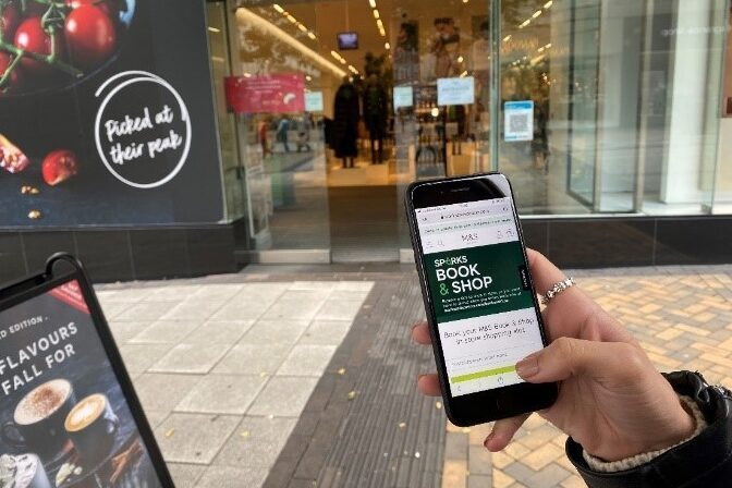 on-the-spot payments m&s marks & spencer Katherine Ash covid-19 pandemic lockdown