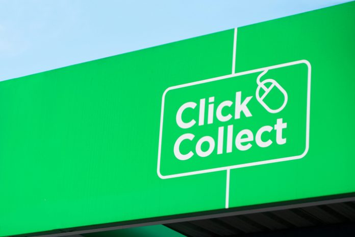 click-and-collect covid-19 pandemic lockdown store closures BRC globaldata statista