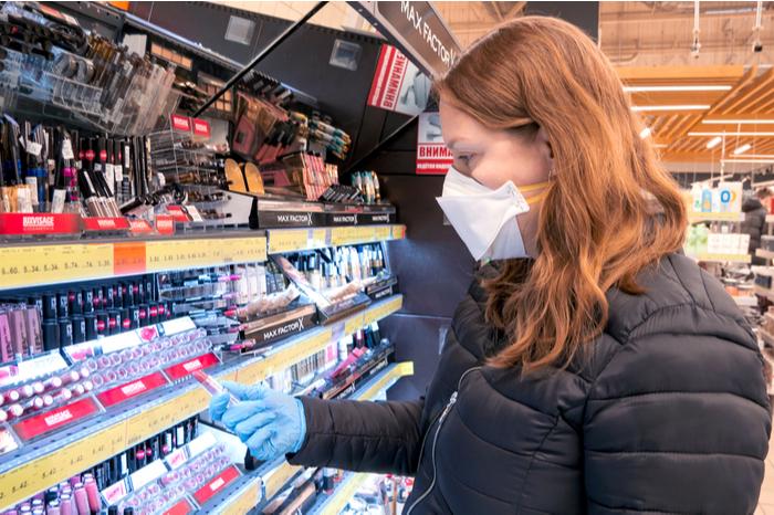 Covid-19 pandemic lockdown beauty base the hut group beauty bay online sales