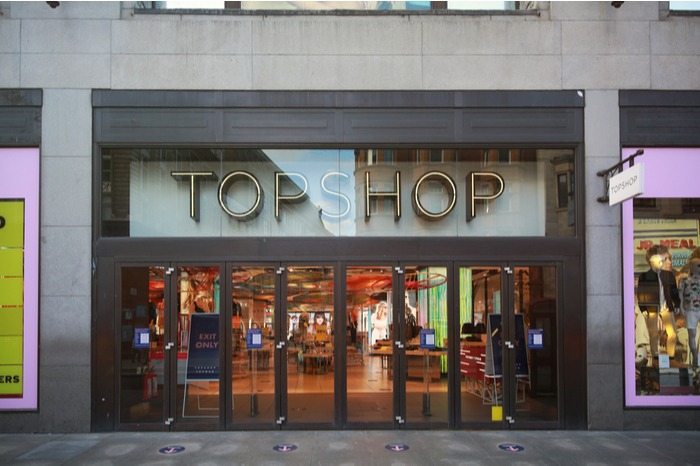 Topshop Arcadia Group Sir Philip Green flagship sale administration