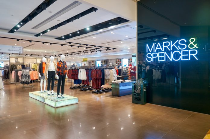 M&S Marks & Spencer Steve Rowe