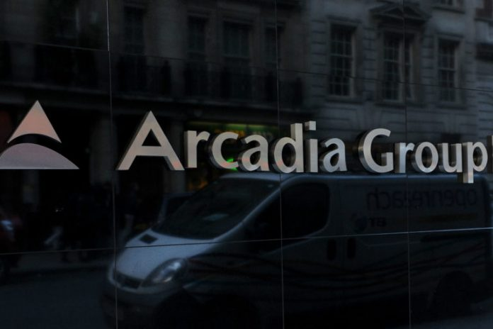Philip Green Arcadia Group administration