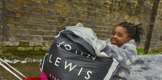 John Lewis donates warm clothing to thousands of families amid cold spell
