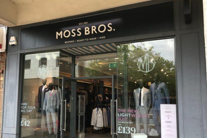 Moss Bros trading update covid-19 pandemic lockdown