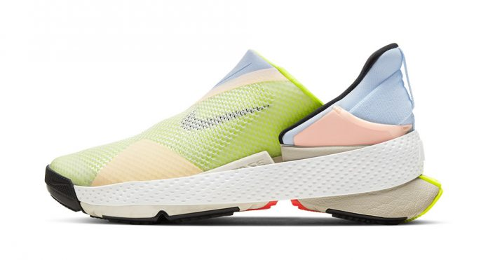 This week, Nike debuted its latest design, the GO FlyEase Hands-Free sports shoe which was built with accessibility in mind as the wearer of the shoe can get in and out of it without using their hands as the trainer has no laces or velcro.
