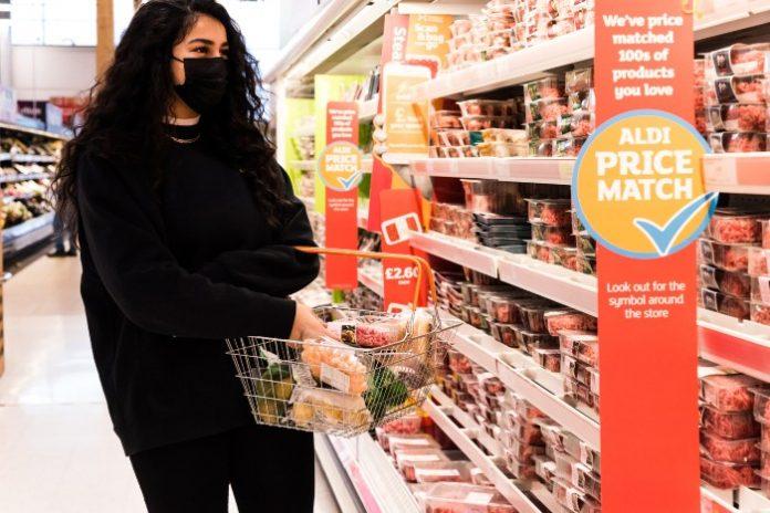Sainsbury's Aldi Price Match