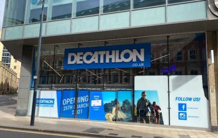 Decathlon Landsec Trinity Leeds James Hutchinson