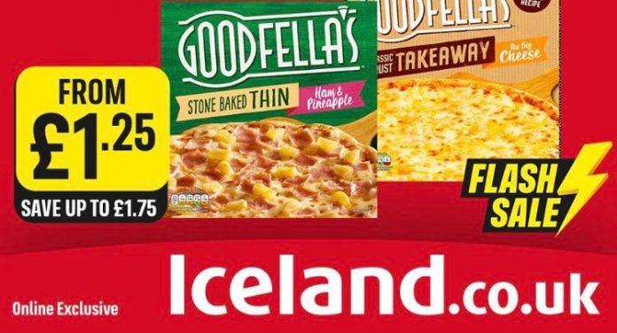 Iceland online flash sales promotional pricing